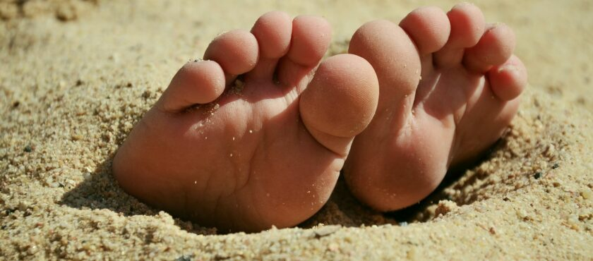 How well do you look after your feet?